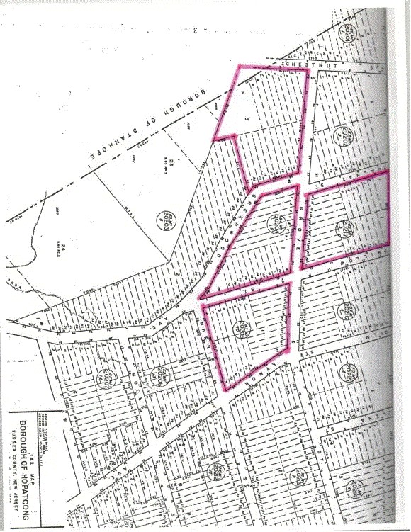 Hopatcong Heights NJ Residential Land Greenwood Ave  New Jersey Stanhope 07874
